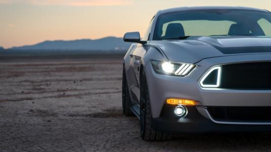 福特野马Mach-E:全新电动SUV的首张图片泄露