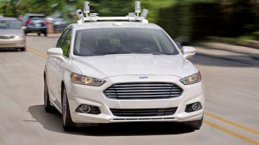 福特在2017年在英国和欧洲测试自动车辆