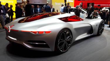 令人难以置信的雷诺Trezor概念车在2016年巴黎举行的房屋举行