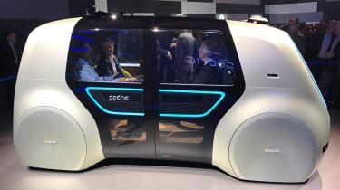 自动驾驶大众轿子秘密概念在日内瓦透露