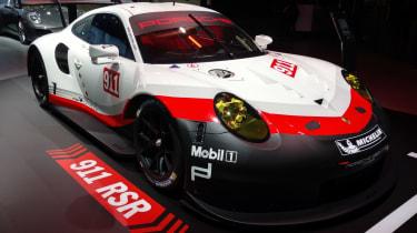 保时捷911 RSR耐力赛车爆炸到2016年LA展