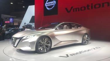 日产VMotion 2.0概念在底特律2017年展示了品牌的未来