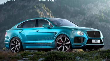 Bentley Bentayga'Super'Coupe-SUV在作品中