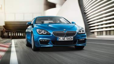 BMW 6系列范围获得2017年的套件更新