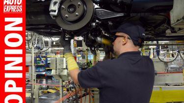 """""""英国汽车厂的工作人员不应该将自己价格从工作中脱颖而出"""""""
