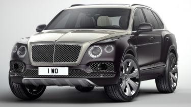 Bentley Bentayga SUV获得了日内瓦之前的Mulliner治疗
