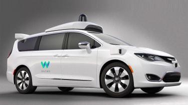 谷歌和FCA无人驾驶汽车:第一个官方图像和详细信息显示