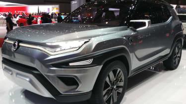 Ssangyong XAVL概念预览日内瓦7座SUV