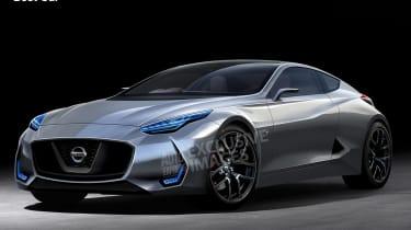 新的日产Z车概念为东京2017年