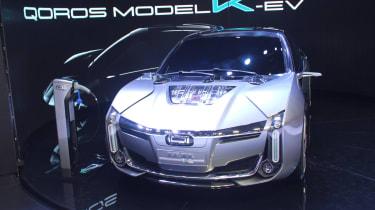 斧头落在Qoros计划上销售欧洲的汽车