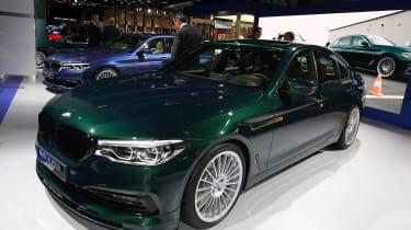 新的322BHP BMW Alpina D5在法兰克福电机展上首次亮相