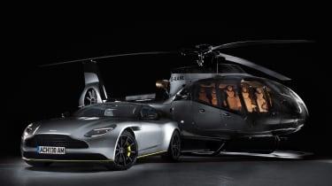 Aston Martin和Airbus推出新直升机