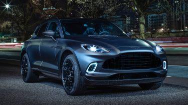 New Aston Martin DBX by q显示了自定义选项