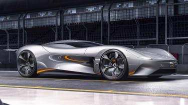 Gran Turismo Sport Game亮相的捷豹Vision GT虚拟概念集