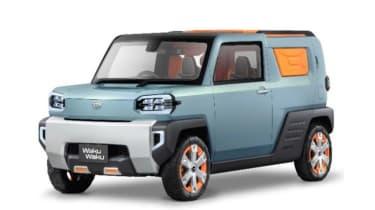 岱发在东京电机展上推出四辆新概念汽车
