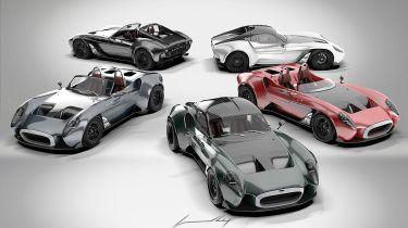 新的Jannarelly Design-1英国版抵达复古造型和V6电源