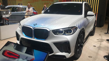 BMW I Hydron Next SUV:动力系规范确认
