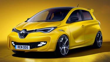 新热门雷诺Zoe RS电动车取代CLIO卢比