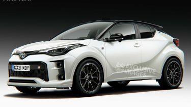 热门新丰田GR C-HR设置为2023发布