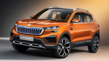 概念的新斯柯达愿景预览了印度的未来SUV