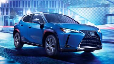 新款2021雷克萨斯UX 300E电动SUV销售现已与196英里的距离