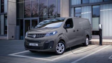 新的Vauxhall Vivaro-E电动车:价格宣布