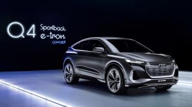新2021奥迪Q4运动返回E-Tron概念预览电动轿跑车SUV